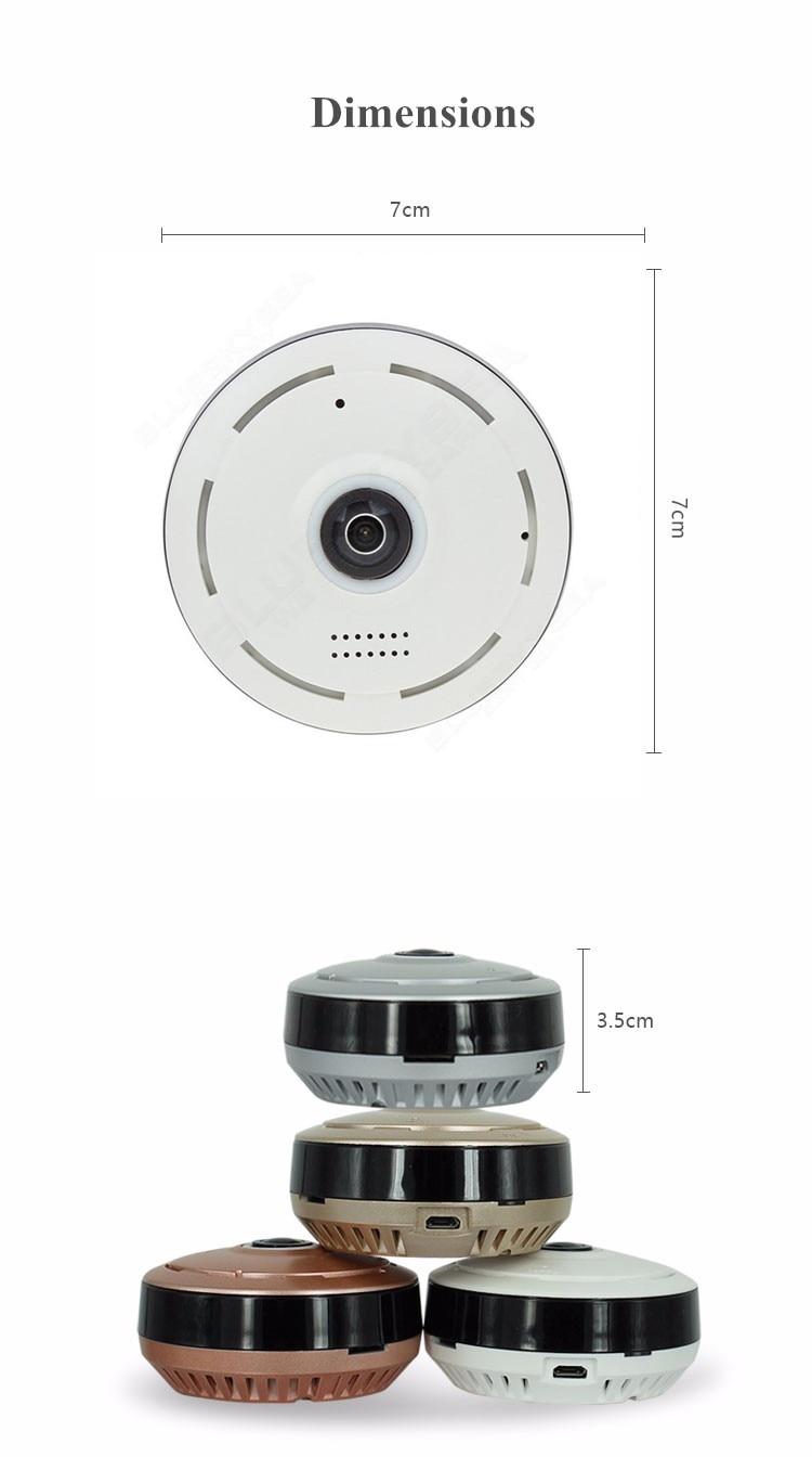 HD 360 Degree Panoramic Wide Angle MINI Cctv Camera Smart IPC Wireless Fisheye IP Camera P2P HD 360 Degree Panoramic Wide Angle MINI Cctv Camera Smart IPC Wireless Fisheye IP Camera P2P 960P HD Home Security Wifi Camera