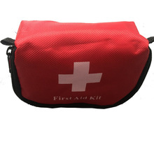 Portable first aid kit survival medical emergency travel car storage bag empty