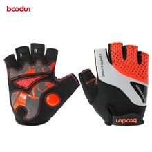 BOODUN Men Women Cycling Gloves 2018 Male Female Fitness Gloves Sport Anti slip GEL Pad MTB