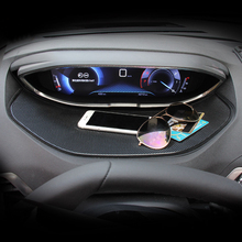Car Styling 1 Inner Dashboard Display Non slip pad Anti Slip mat Cover For Peugeot 3008