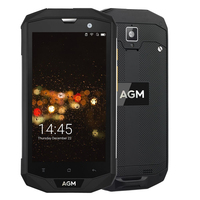 AGM A8 54G FDD LTE Android 7.1 Mobile Phone Dual SIM IP68 Rugged Smartphone Quad Core 13.0MP 4050mAh Support Bluetooth NFC OTG