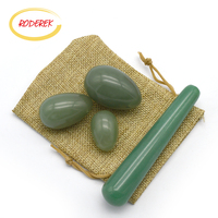 Stone Yoni Egg Natural Jade Egg Set For Pelvic Muscle Wand Massaegr Kegel Exercise Health And Wellness