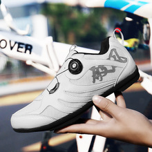 Breathable Self-Locking Cycling Shoes Road Bike Bicycle Shoes Ultralight Athletic Racing Sneakers Sapatilha Ciclismo Mtb Shoes santic pro road cycling shoes tpu wearable bike self locking shoes men women racing athletic bicycle shoes sapatilha ciclismo
