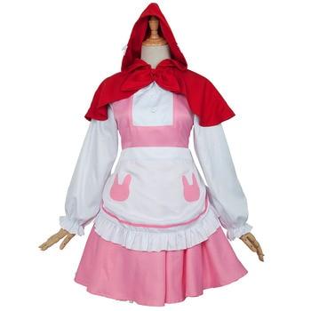 Anime Miss Kobayashi-san Dragon Maid Kobayashi-san Chi no Meidoragon Kanna Kamui Kanna Kobayashi Cosplay Costume Maid Cosplay фото