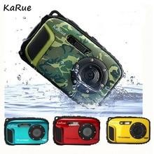 karue 10M Waterproof Digital Camera Portable 16MP HD 8X Digital Zoom 1280 * 720 HD Digital Camera for outdoor 2.7