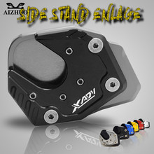 XADV  For HONDA X-ADV 2017 2018 CNC Aluminum Motorcycle Side Stand Enlarge Foot Kickstand Extension FOR