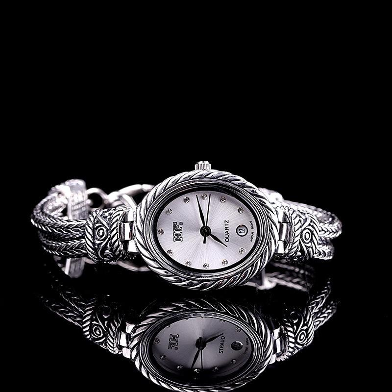 Nouveau 925 bijoux en argent sterling femmes montreNouveau 925 bijoux en argent sterling femmes montre