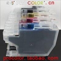 Completo lc3619 xl lc3617 recarga cartucho de tinta para o irmão mfc j3930dw j3530dw j2330dw j2730dw MFC-J2330DW impressora a jato de tinta com chips