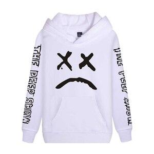 Image 2 - Cap&Mask as gifts Lil Peep hoodies men women boy girl sweatshirts hip hop Rapper Bboy DJ dancer DJ hooded jacket tracksuits coat