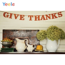 Yeele Thanksgiving Photocall Party Pumpkin Ins Wood Photography Backdrops Personalized Photographic Backgrounds For Photo Studio