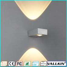 Indoor 3W LED Wall Lamp AC110V or 220V Bedroom Decorate Sconce Cold White / Warm White  CE FCC VALLKIN