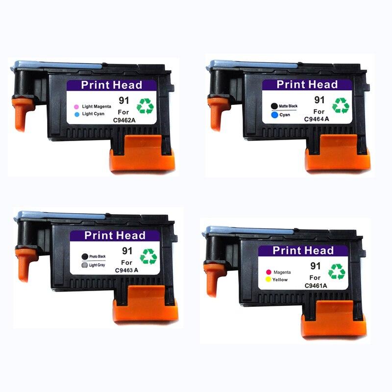 Vilaxh C9460A C9461A C9462A C9463A 91 Substituição Da Cabeça de Impressão Para HP 91 Z6100 Z6100P do Cabeçote de Impressão Para Designjet de Impressora