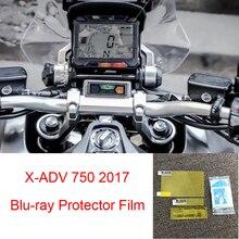 Para Honda X-ADV 750 de 2017 motocicleta velocímetro de película de protección contra arañazos pantalla Blu-ray Protector