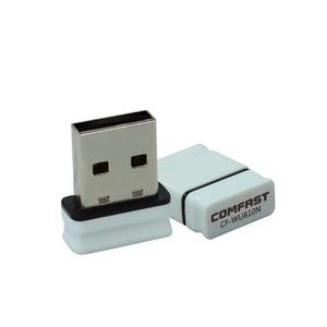 Image 3 - Адаптер 150Mbps USB WiFi Wi fi Adaptador Wi Fi Dongle Adaptador Antena Placa de Rede Sem Fio Receptor Ethernet wi fi Comfast
