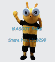 funny hornet bee mascot costume adult size wholesale cartoon yellow bee insect theme anime cosply carnival fancy dress 2907