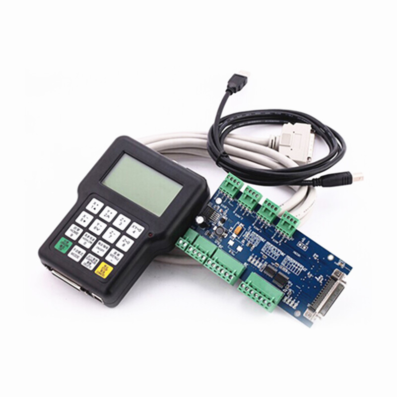 RichAuto A11 CNC DSP controller A11S A11E 3 axis ,replace DSP 0501 controller for cnc milling machine DSP system 1pc new cnc wireless channel for cnc router cnc machine dsp controller 0501 dsp handle english version