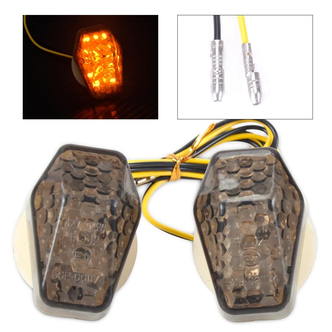 CITALL Custom Smoke LED Flush Mount Turn Signal Blinker Marker For Suzuki GSXR 600 750 1000 SV 650 650S 1000 1000S Bandit 600S