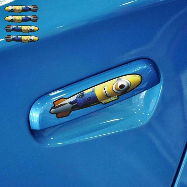 Us 203 49 Offauto Styling Cartoon Minions Auto Türgriff Bombe Aufkleber Zubehör Für Ford Focus 2 3 Opel Renault Toyota Smart Peugeot 307 In