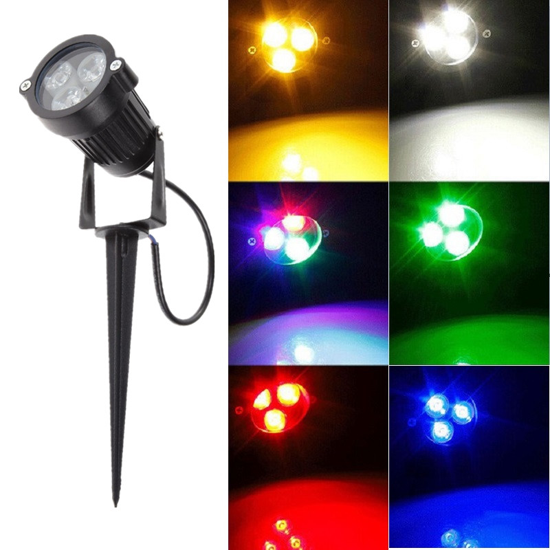 10pcs lot 3w landscape light outdoor 12v 110v 220v garden for 12v garden lights