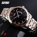 Relojes hombres lujo de la marca Skmei Reloj Digital de cuarzo hombres de acero completo relojes de pulsera reloj Casual relogio masculino reloj hombre