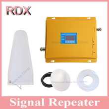 High gain LCD display cellphone dual band 900 1800 signal booster mobile phone gsm900 4g dcs1800 mhz repeater cellular amplifier