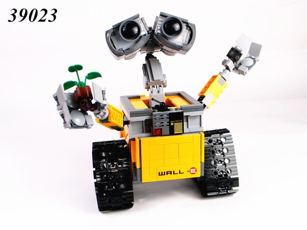 2017 HOT 687Pcs Compatible 39023 Idea Robot WALL E Building Set Kit Toy for Children WALL