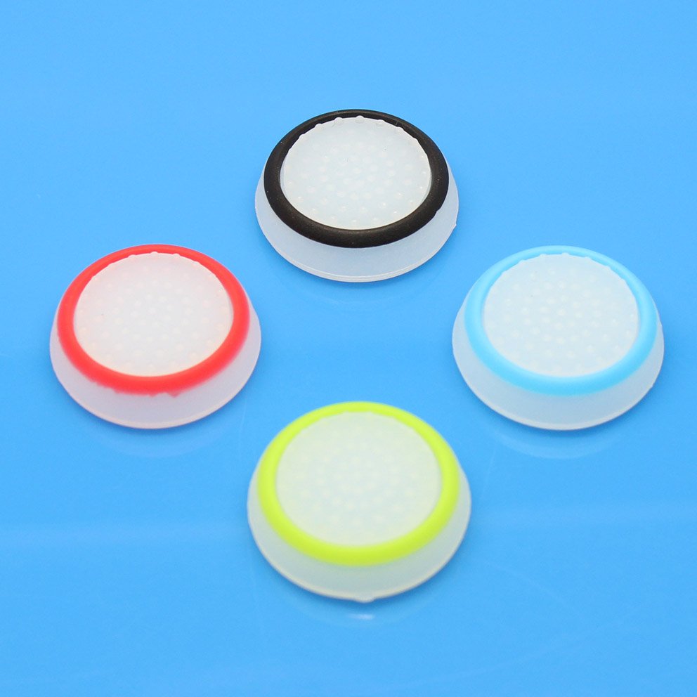 20pcs Glowing Luminous Silicone Thumb Stick Joystick Grip Cover Caps For Sony PS4 PS3 XBOX 360 XBOX ONE Controller Silicone Caps