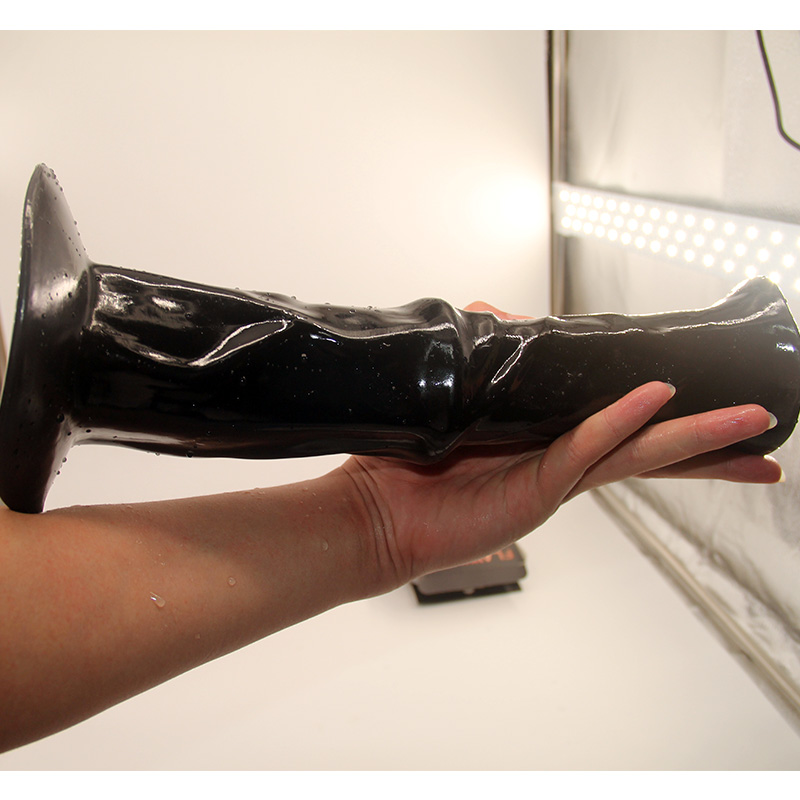 Qise gros gode main Silicone pour femme masturbateur érotique Flirt vagin Clitoris masseur ventouse femme stimulateur