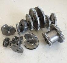 Freies verschiffen 18 teile/satz mini drehmaschine getriebe, metall Schneidemaschine getriebe, drehmaschine getriebe