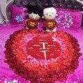 Don Nupcial 1000 unids Pétalos de Rosa Artificial Del Banquete de Boda del Florero Decoración de Flores Nupcial Ducha de Confeti de Novia Flores