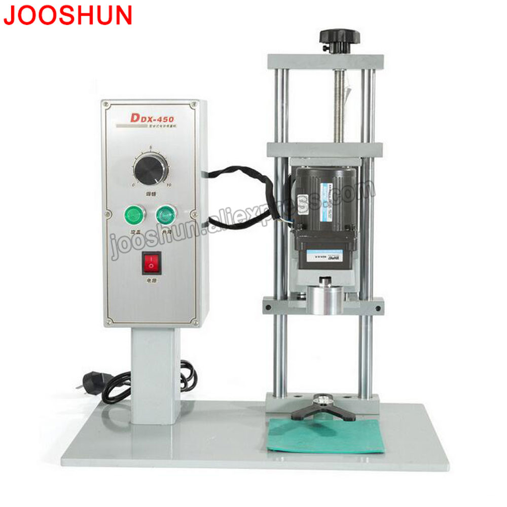 Automatic Bottle Cap Screw Capping Machine Bottle Capper Sealer Electric Capping Tool Cola Soft Drink Bottle Chuck 10-50mm free shipping new manual electric capping machine screw capper plastic bottle capping machine for special cap