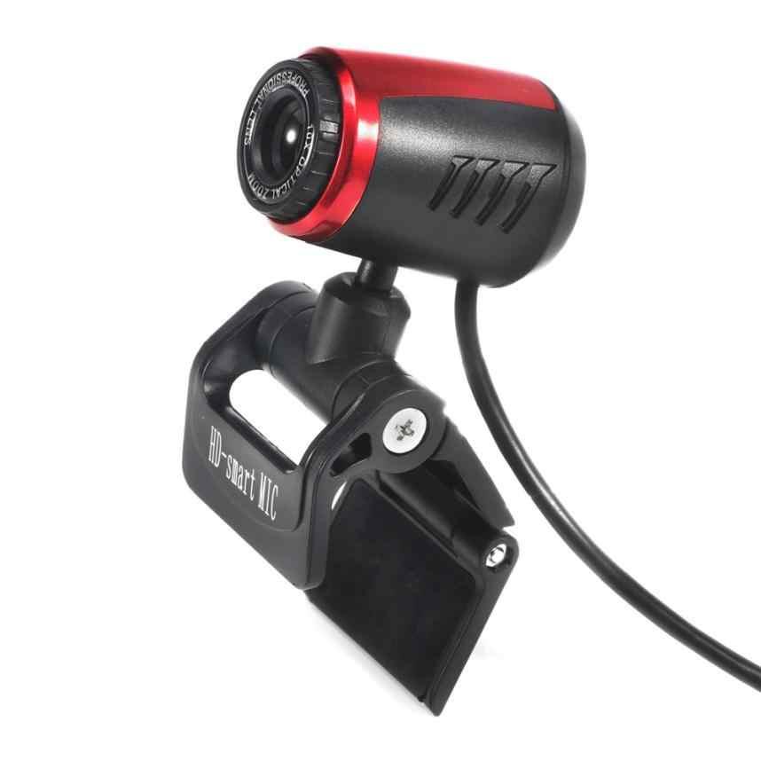 HIPERDEAL Новый USB 2,0 HD Веб камера с микрофоном Mic светодио дный LED для портативных ПК 18Mar29 Прямая поставка F