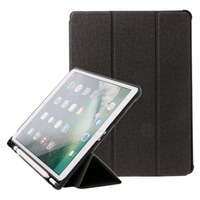 5Colors For IPad Pro 10 5 Case Faux Leather Slim Smart Cover With Pencil Holder Auto