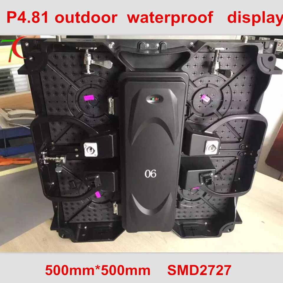 500*500mm P4.81 outdoor waterproof die-casting aluminum cabinet display , SMD,13scan,43624dot/sqm500*500mm P4.81 outdoor waterproof die-casting aluminum cabinet display , SMD,13scan,43624dot/sqm