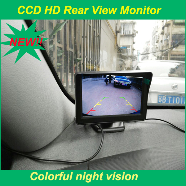 4.3 lcd desktop monitor assist car parking use bring high resolution fit for various car