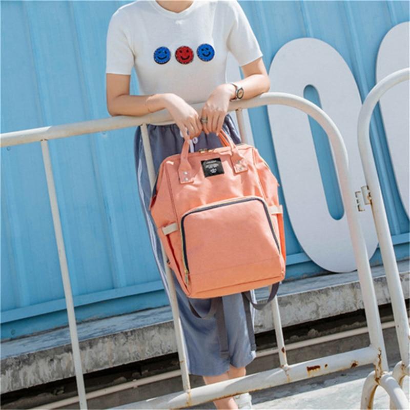 HTB1SdAKLHvpK1RjSZPiq6zmwXXaE 23 Colors Fashion Mummy Maternity Nappy Bag Large Capacity Baby Diaper Bag Travel Backpack Designer Nursing Bag for Baby Care