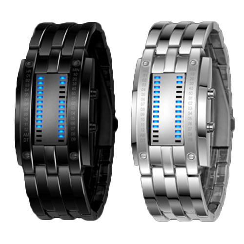 Men Watches Skmei Fashion Brand Design Wristwatches For Men Women lovers Led Digital Stainless Steel Vogue Watch Relojes Hombre relojes full stainless steel men s sprot watch black and white face vx42 movement