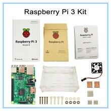 Buy online Raspberry Pi 3 Starter Kit with Original Raspberry Pi 3 Model B Board + Raspberry pi Case with Fan and Heat Sinks