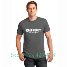 Call Doody Brown Ops Black Duty Video Game Funny Tee Shirt Leisure Comical Men T Summer Gents Cotton Fitted Hiphop