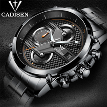 2017 Top Luxury Brand Cadisen Men's Quartz Analog Watch Man Fashion Sport Army Military Wristwatch Male Clock Relogio Masculino все цены