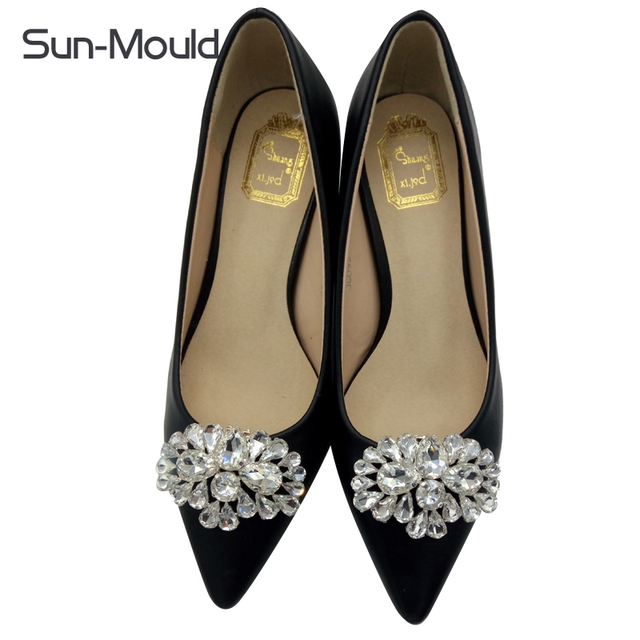 10pairs shoes flower charms bridal high heel pumps accessories 10pairs shoes flower charms bridal high heel pumps accessories crystal diamond shoe clips fashion wedding junglespirit Image collections