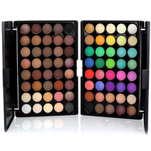 2019 new Professional 40 Colors Cosmetic Powder Eyeshadow Palette Makeup Set Matte Available Shimmer Matte Eye Shadow Palette