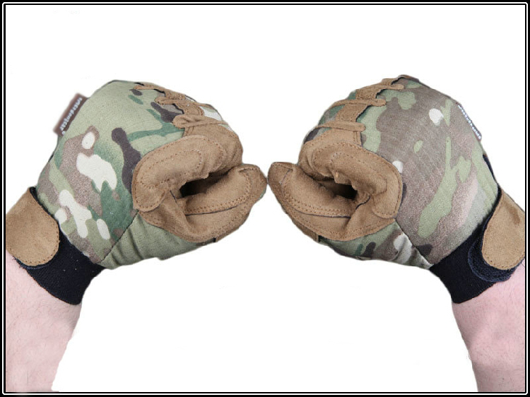 Tactical Lightweight Camo gloves full finger Mandrake Tyhone Highlander hunting gloves