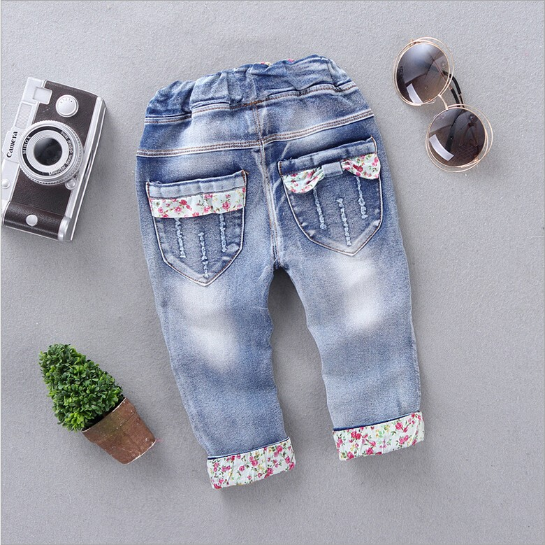 New-Arrival-Baby-Girls-Fashion-Denim-Jeans-Girls-Floral-Belt-Skinny-Jeans-Kids-Spring-Autumn-Jeans-Child-Long-Pants-2