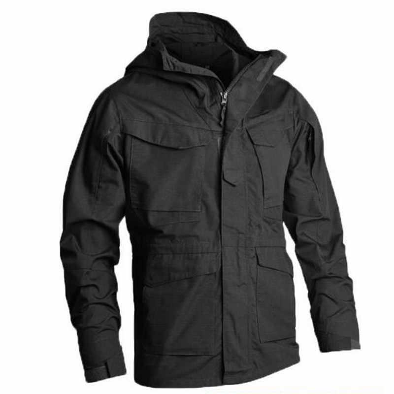 LIS ALICES 戦術ジャケット男性 M65 コート男性パーカー冬ウインドブレーカー軍事服秋軍フィールドジャケット男性服