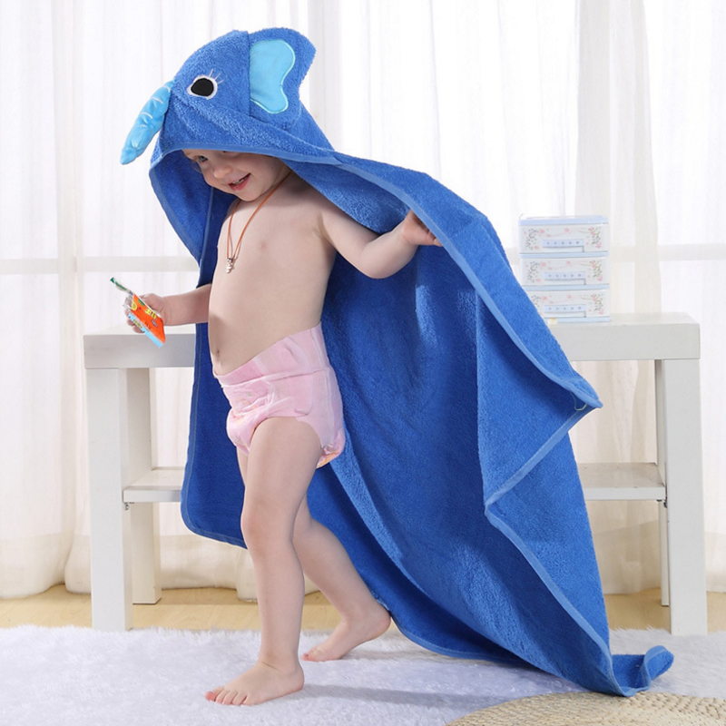 2017 Spring and Summer New Children's Cotton Bathrobes Cute Modeling Baby Bath Towel Cloak Bathrobe database modeling and design