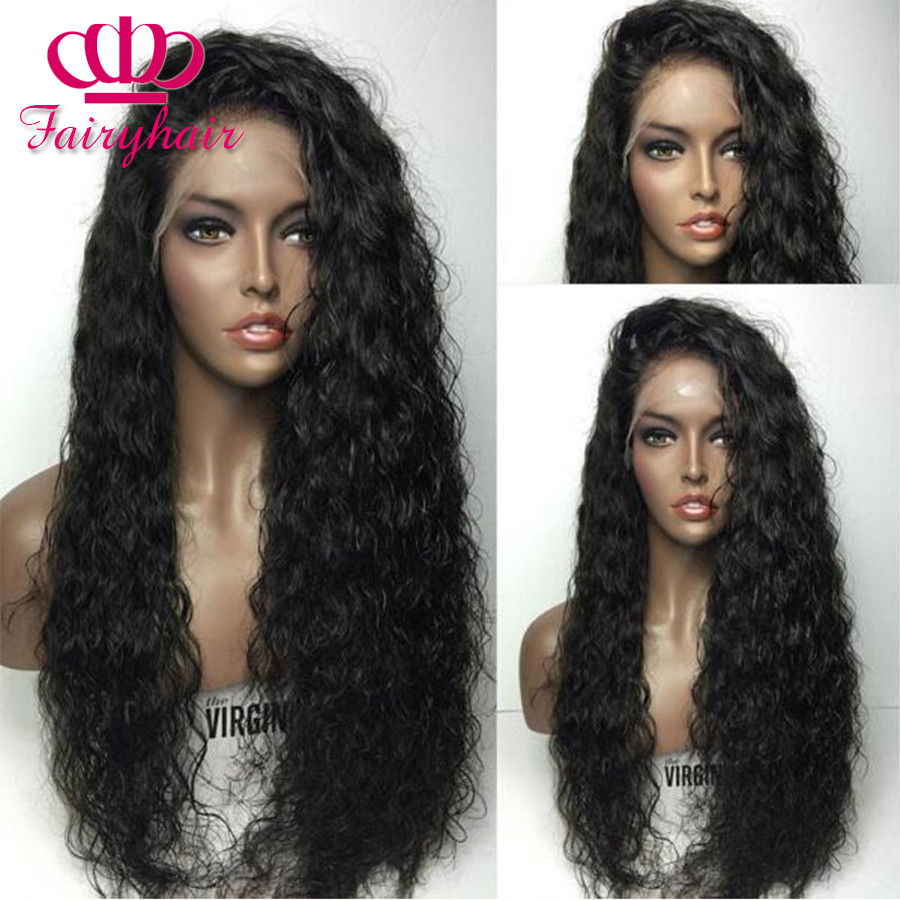 High Density Loose curly synthetic lace front wig glueless black curly wigs heat resistant syntehtic lace front wig for black women