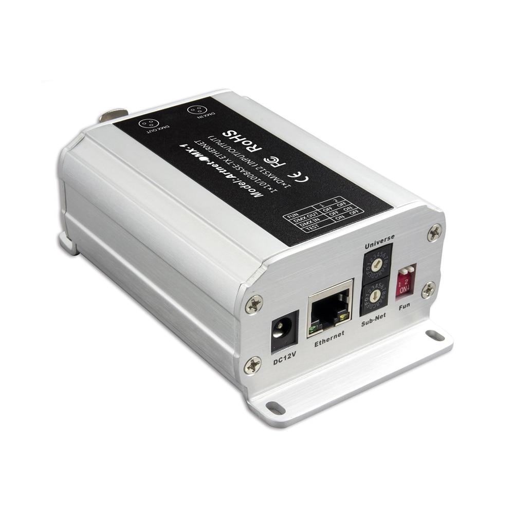 LTECH ArtNet чтобы конвертер DMX; ArtNet/DMX512 вход; DMX 512 выходных каналов Artnet чтобы DMX преобразователь сигнала RJ45/XLR Artnet DMX 1