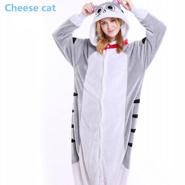 Kigurumi Cat Pajamas Animal Onesie Kids Adult Amime Chis Sweet Home Cheshire Cat Cosplay Halloween Costumes For Women Girls