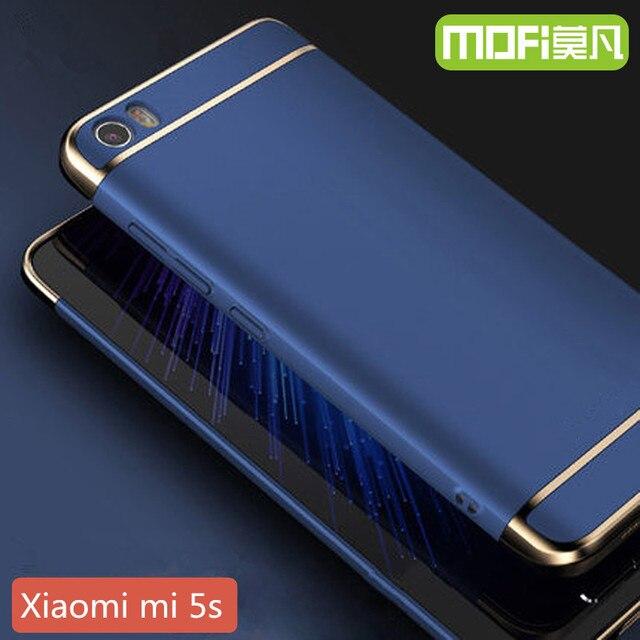 """Xiaomi mi caso duro de la cubierta de 64 gb xiomi 5S mi5s funda xioami 5S pro primera capa de proteger 5.15 """"m5s xaomi volver esmerilado 5 s 128 gb coque"""